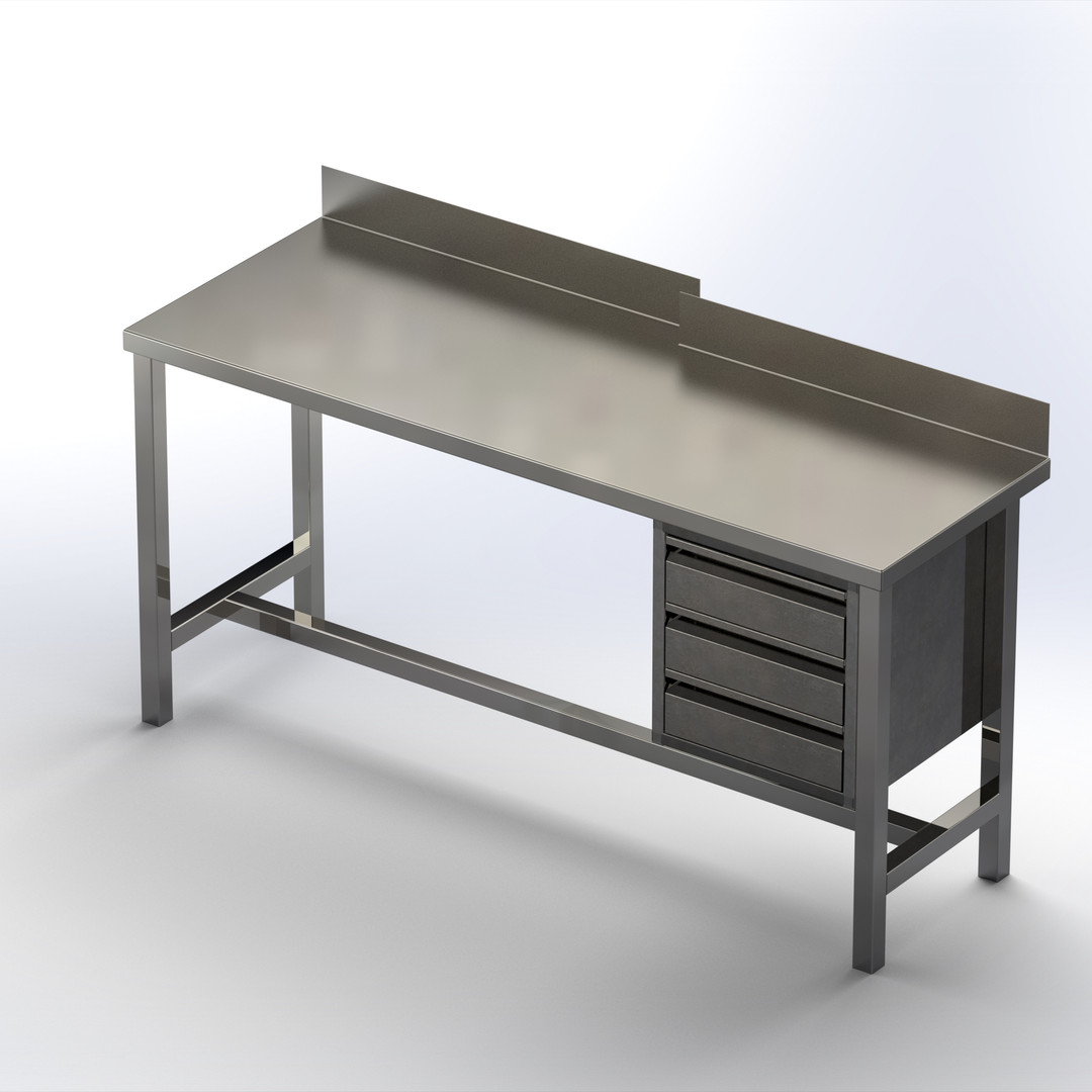 שולחן עם מגירות