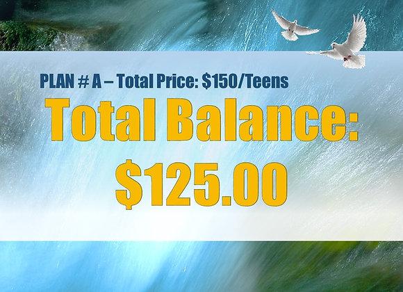 Plan #A - Balance in Full, Teens