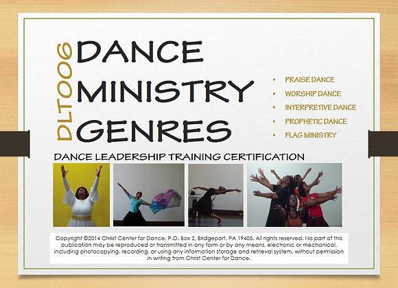 DLT006: Dance Ministry Genres