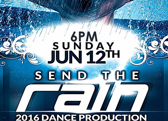 SEND THE RAIN DVD