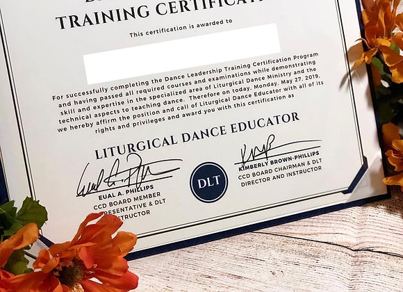 DLT Graduation Certification Deluxe Package