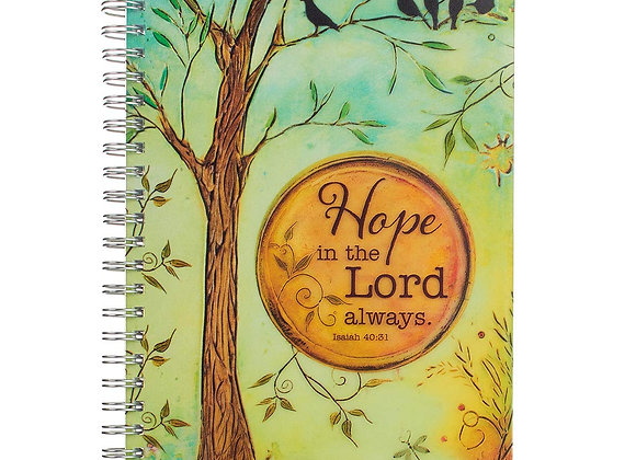 Hope in the Lord Wirebound Notebook - Isaiah 40:31