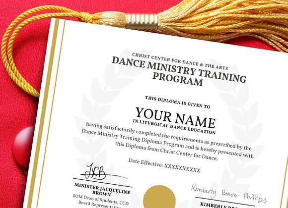DMT Deluxe Graduation Certification Package