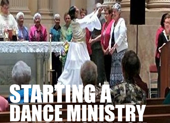 Starting a Dance Ministry in your Church