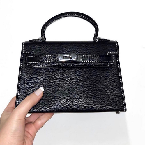 Luxe London Mini Bag - Black