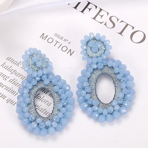 Isabelle Earrings - Blue