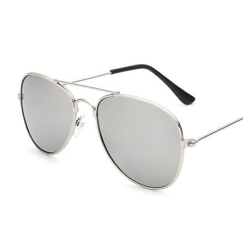 'Miami' Aviator Sunglasses - Mirrored