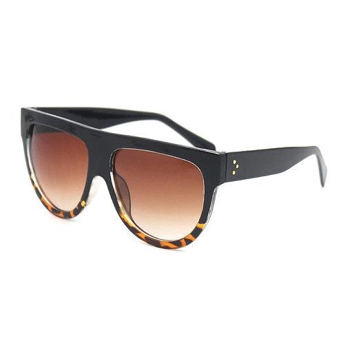 'Kim' Tortoiseshell Ombre Sunglasses