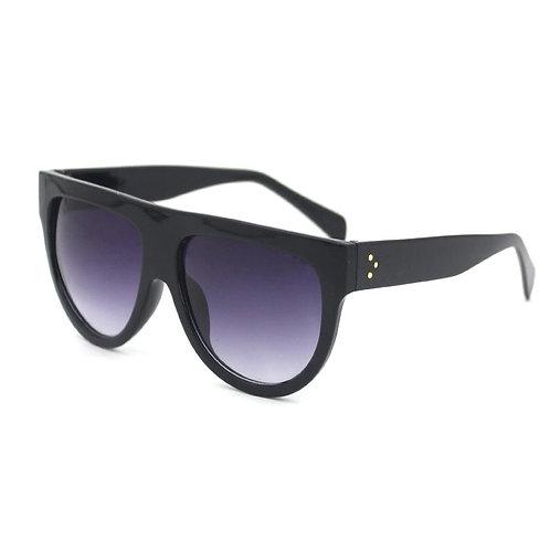 'Kim' Black Ombre Sunglasses