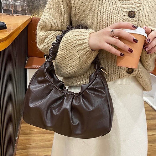 'Lexi' Bag - Chocolate Brown