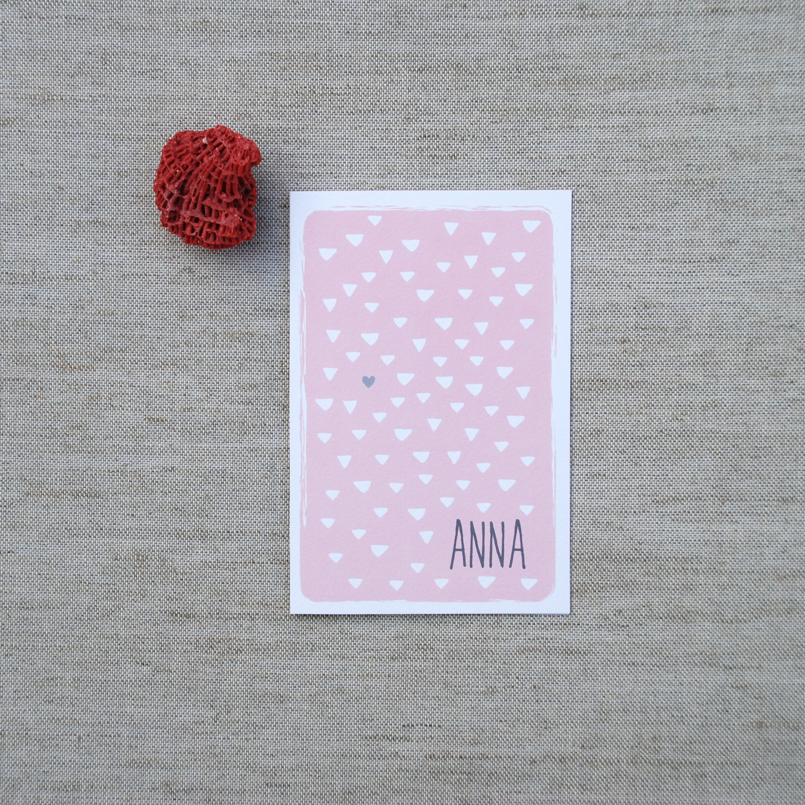 birth card anna