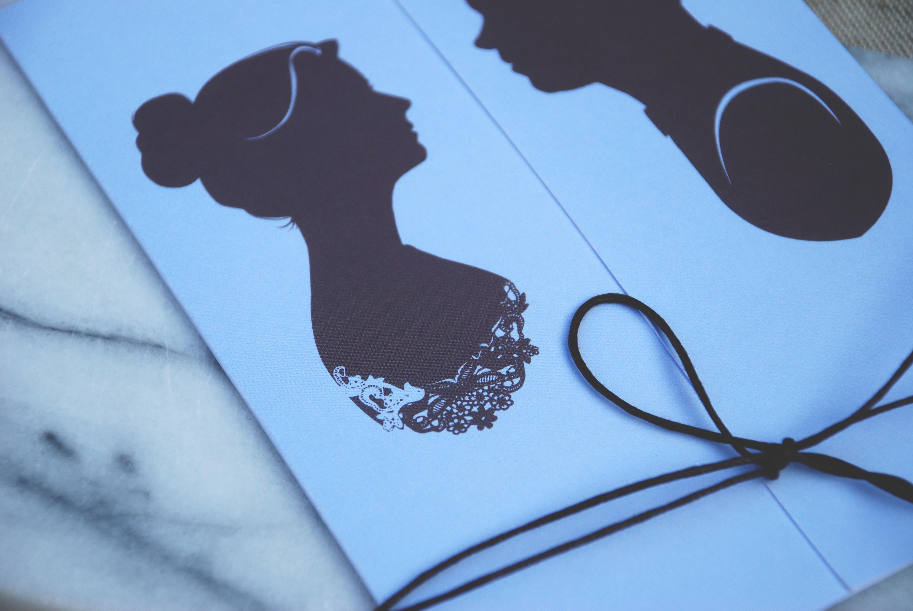 handmade silhouettes