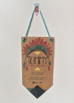 birth card tommy