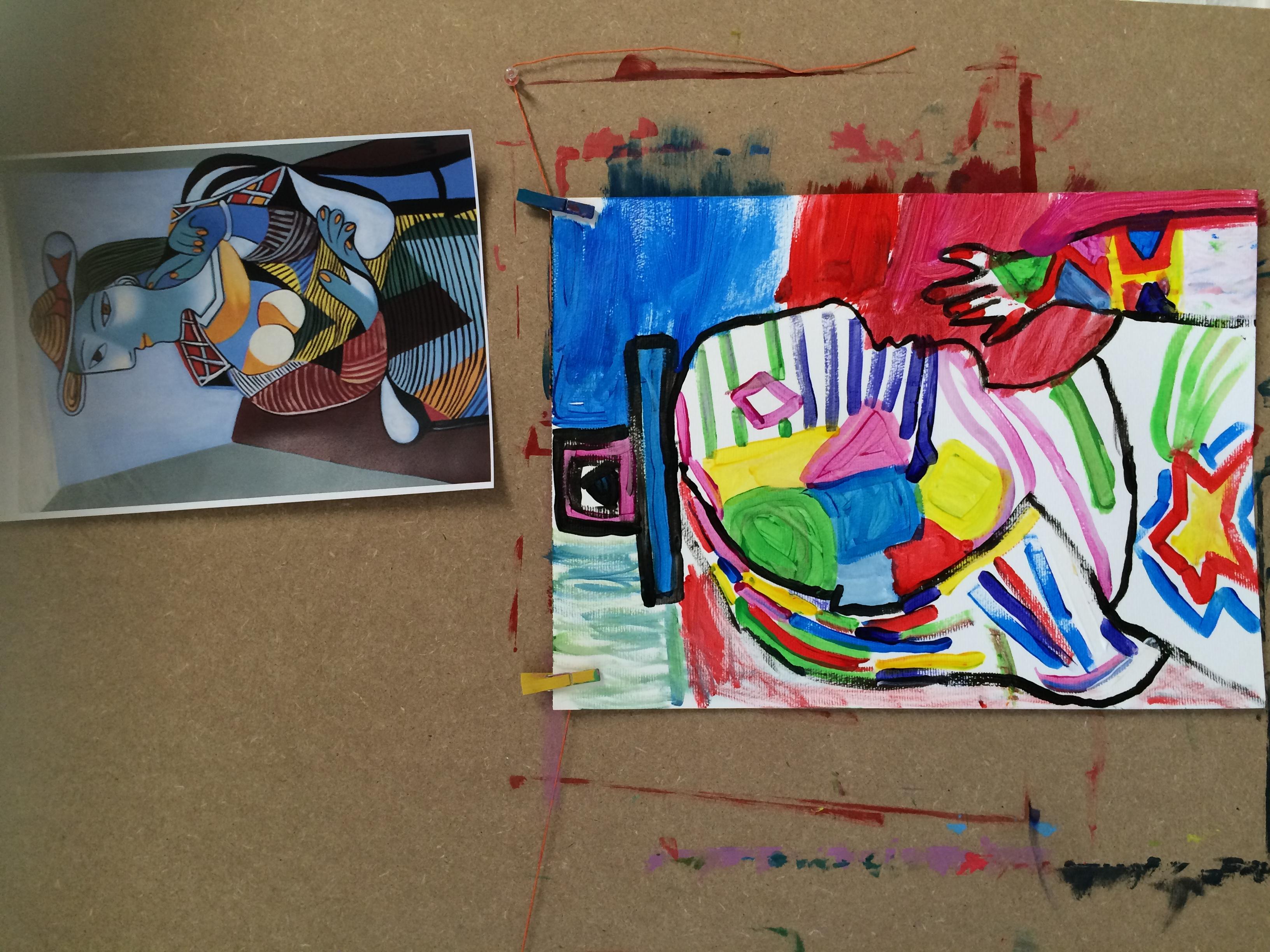 Les portraits comme Picasso