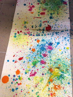 Dripping & dropping, Pollock!