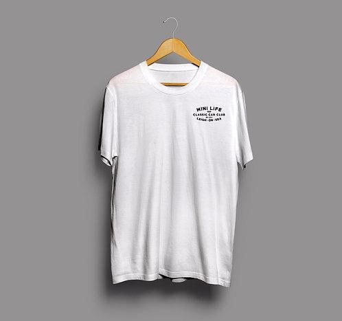 White Mini Life T-Shirt