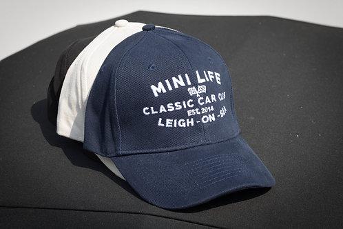 Mini Life Heavy Brushed Cotton Cap (Various Colours)
