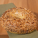 Toasted Everything Bagel W/ Cream Cheese