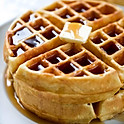 Belgian Style Waffle W/ Syrup