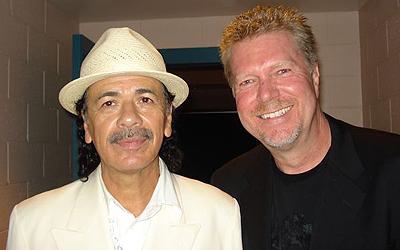 Carlos Santana & JR