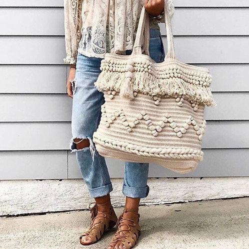 Bondi Oversized Bag - Natural