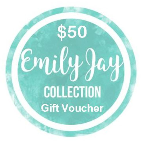 Emily Jay Collection $50 Voucher