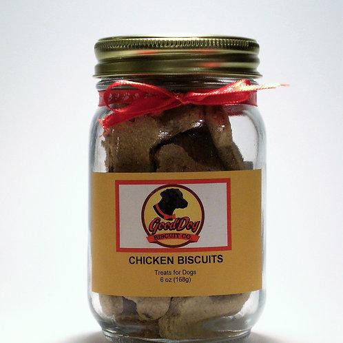 CHICKEN BISCUITS MASON JAR