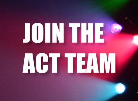 ACT Now Hiring: Part-Time Box Office Manager