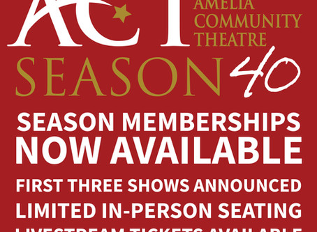 SEASON 40 Memberships are Available!