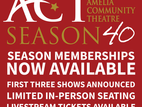 SEASON 40 Memberships are Available!
