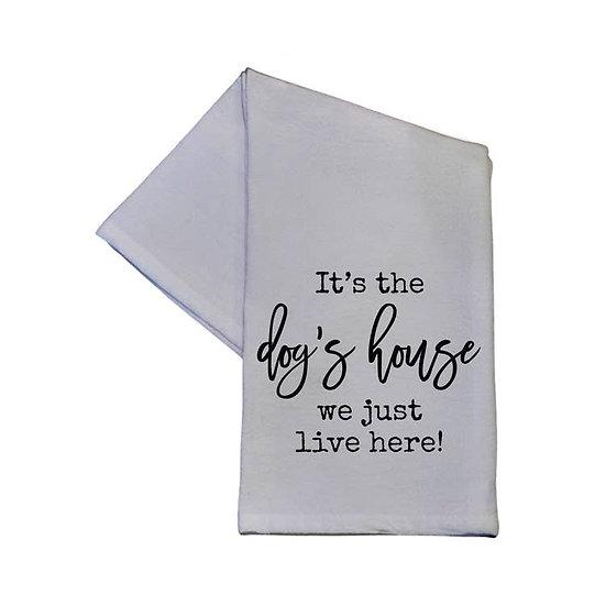 """Dog's House"" Towel"