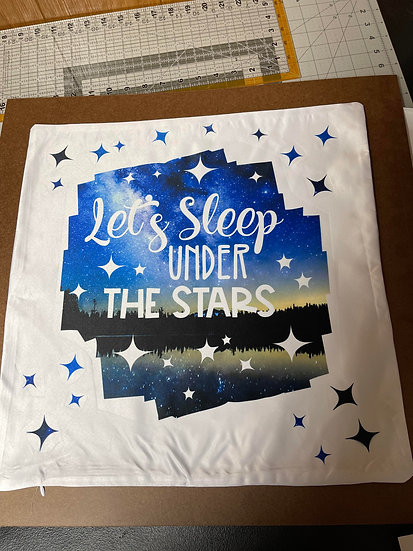 Under the stars Pillow Case