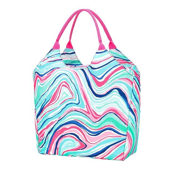 Marble Beach Bag