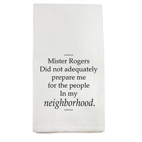 """Mister Rogers"" Towel"