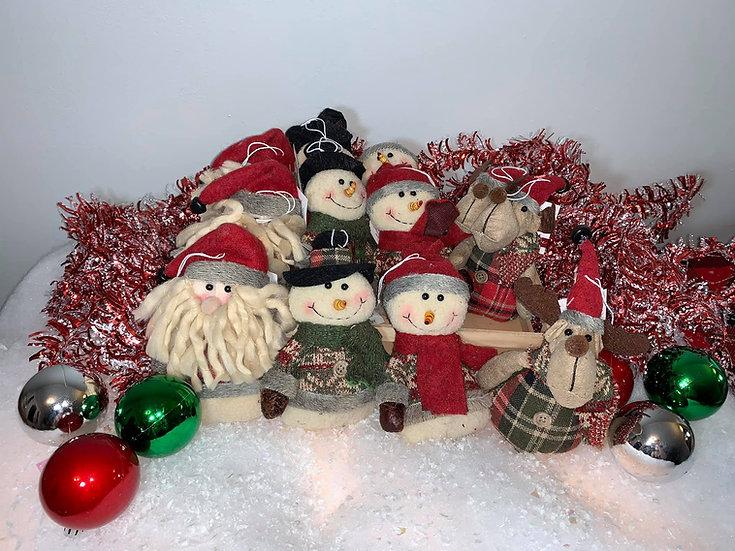 Snow Lodge Ornaments