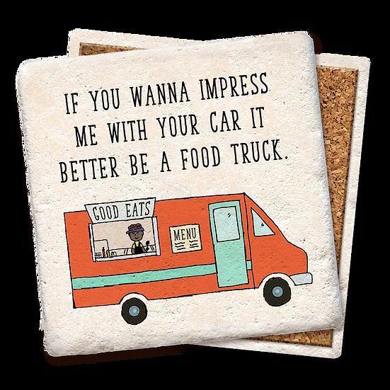 """Food Truck"" Coaster"
