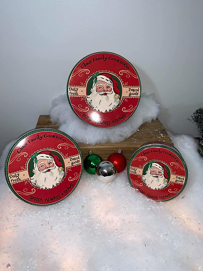 Claus Family Cookies (Set of 3)