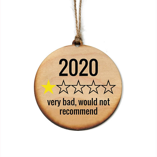 2020 Review Ornament