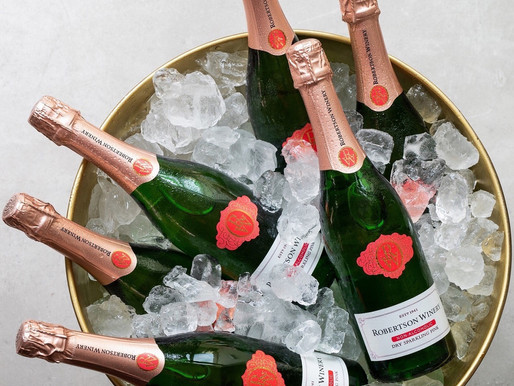 Get a look at Robertson Winery's Non-alcoholic dry sparkling pink - Mocktail recipe included
