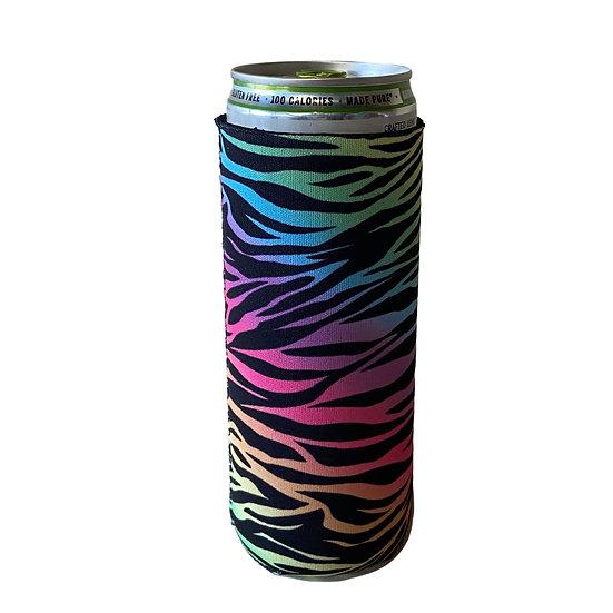 Neon Tiger Slim Can Cooler