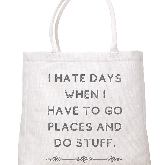 """""""Go Places"""" Tote"""