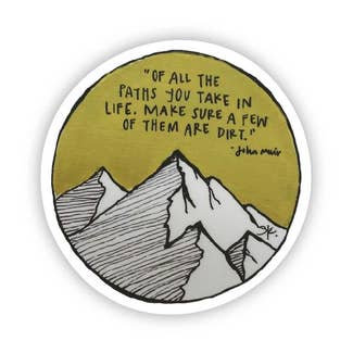 Of all the paths Sticker