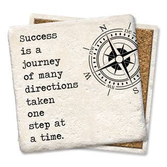 Success is a journey Coaster
