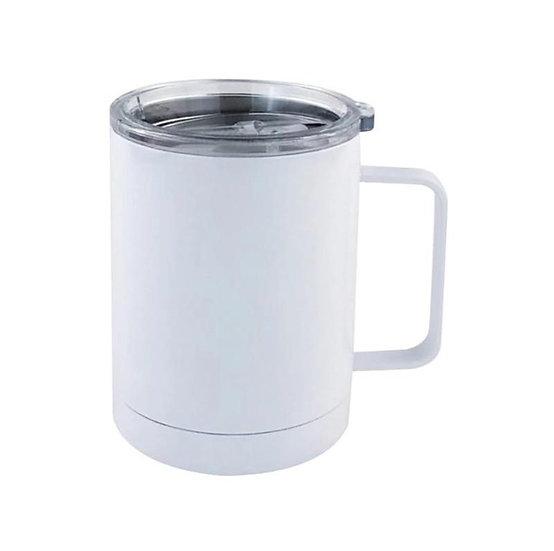 12 oz Blank Customizable Coffee Tumbler with Lid