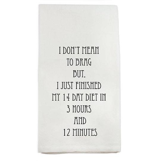 Diet Towel