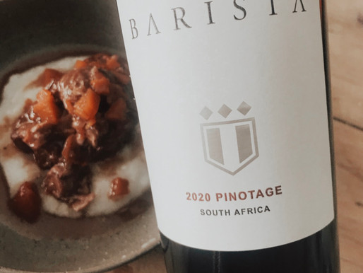 The Wine Foxes Barista Pinotage Oxtail Stew