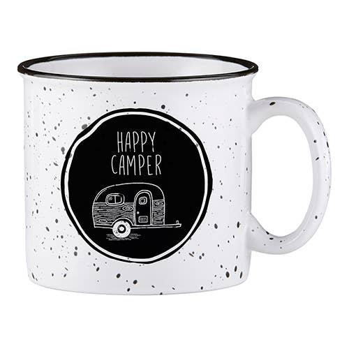"""Happy Camper"" Mug"