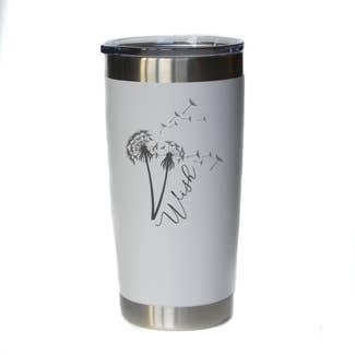 Wish Mug w/ Lid (White)