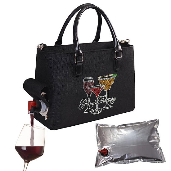 Wine Purse- Group Therapy