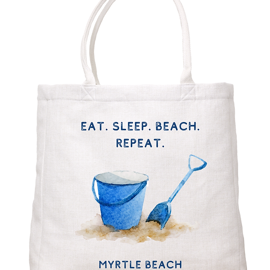 """""""Pail and Shovel"""" Tote (Ocean City)"""